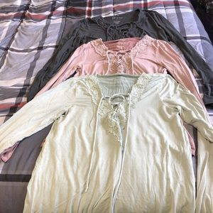 American Eagle sexy t long sleeve shirts